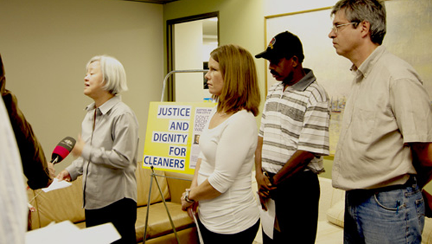Stand up for Toronto cleaners