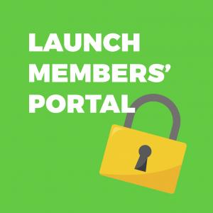 Launch members' portal
