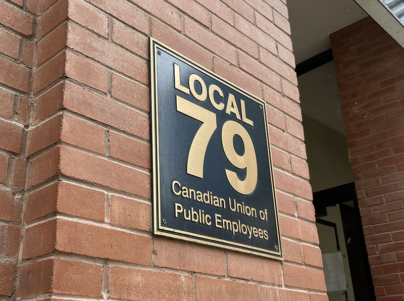 Local 79 sign